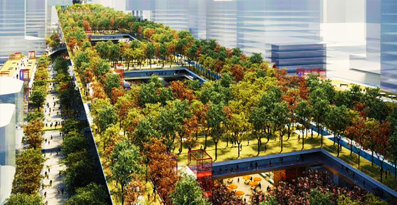 Shenzhen is building a mile-long superhighway for trees