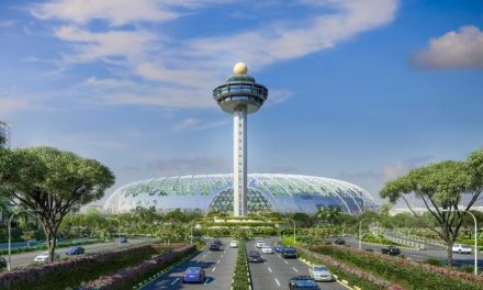 New development at Singapore Changi Airport