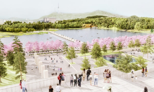West 8 deliver park design in Seoul