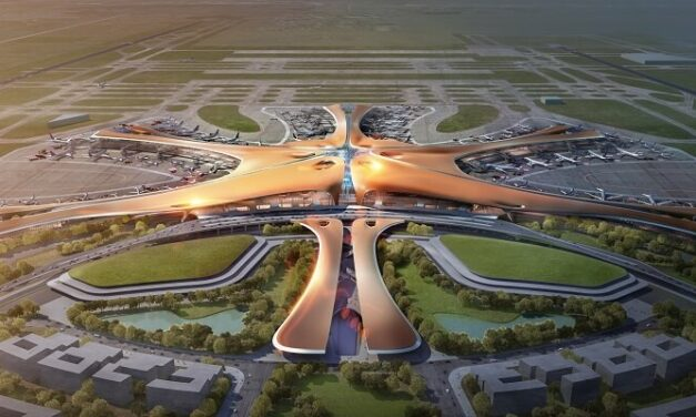 The Starfish terminal designed for Beijing Airport