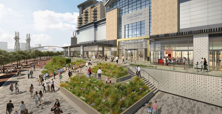 Plans approved for The Watergardens at Lifestyle Outlet Manchester