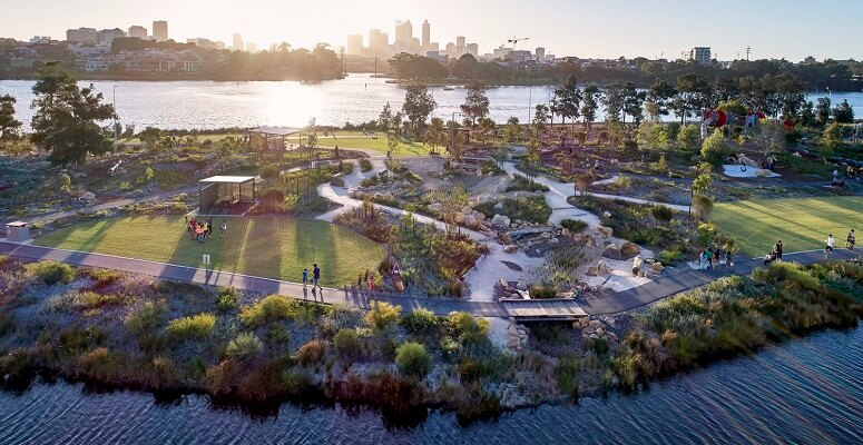 Three HASSELL projects shortlisted for World Landscape Architecture Awards
