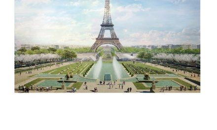 Gustafson Porter + Bowman's winning landscape design for Eiffel Tower