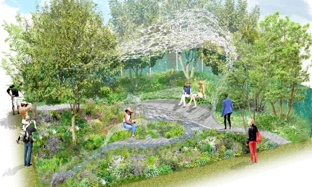 Exterior Architecture prepares for RHS Chelsea Flower Show