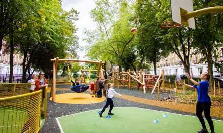 Milner Square wins Children's Play award in Street Design Award