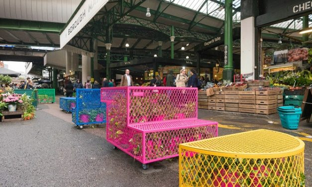 Better Bankside's Air Benches