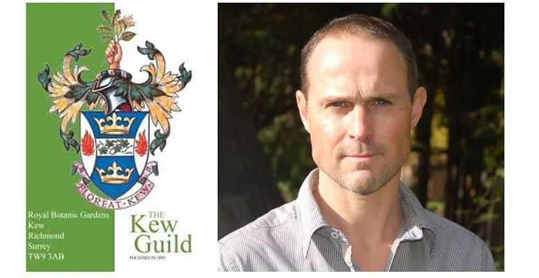 Kew Guild honours Tim O'Hare