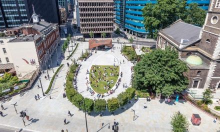 NLA Wellbeing Award for Aldgate Square
