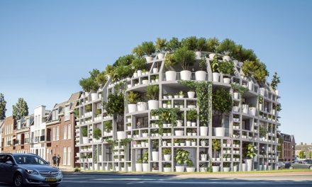 MVRDV unveils project featuring a living façade of plants