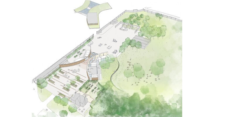 The Royal Parks reveals new designs for eco-friendly Learning Centre in Greenwich Park