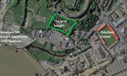 Third land acquisition will help realise riverside plan for Ebbsfleet Garden City