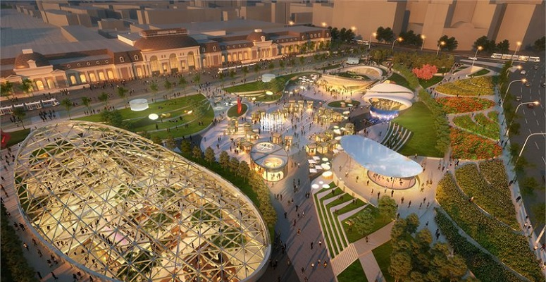 5+design create multi-functional park in Moscow