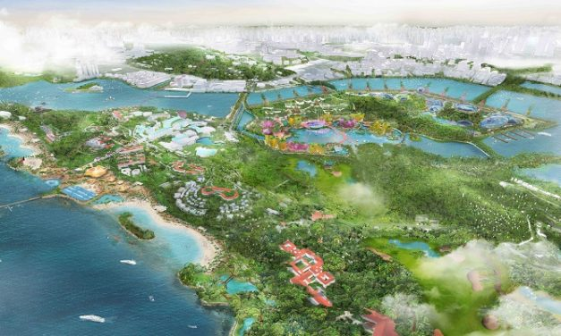 Grant Associates behind reinvention of Singaporean islands