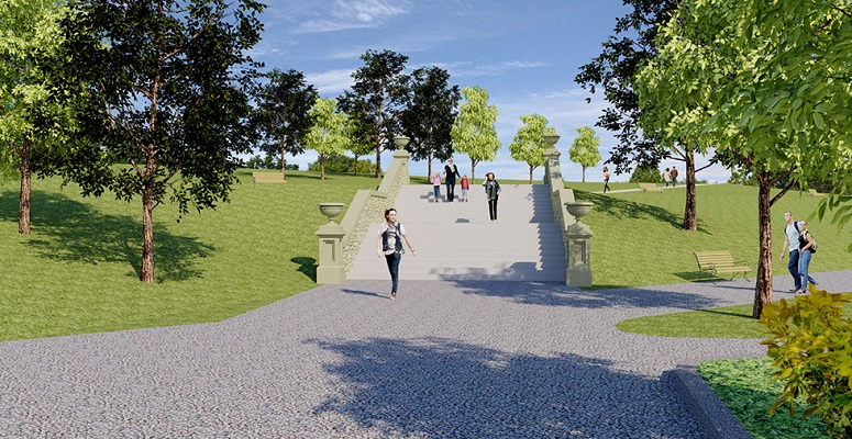 Restoration underway for South Tyneside park